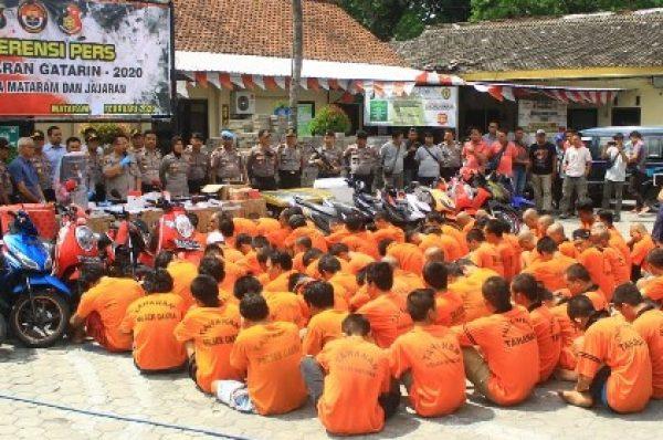 Jawara Tangkap Penjahat Polresta Mataram