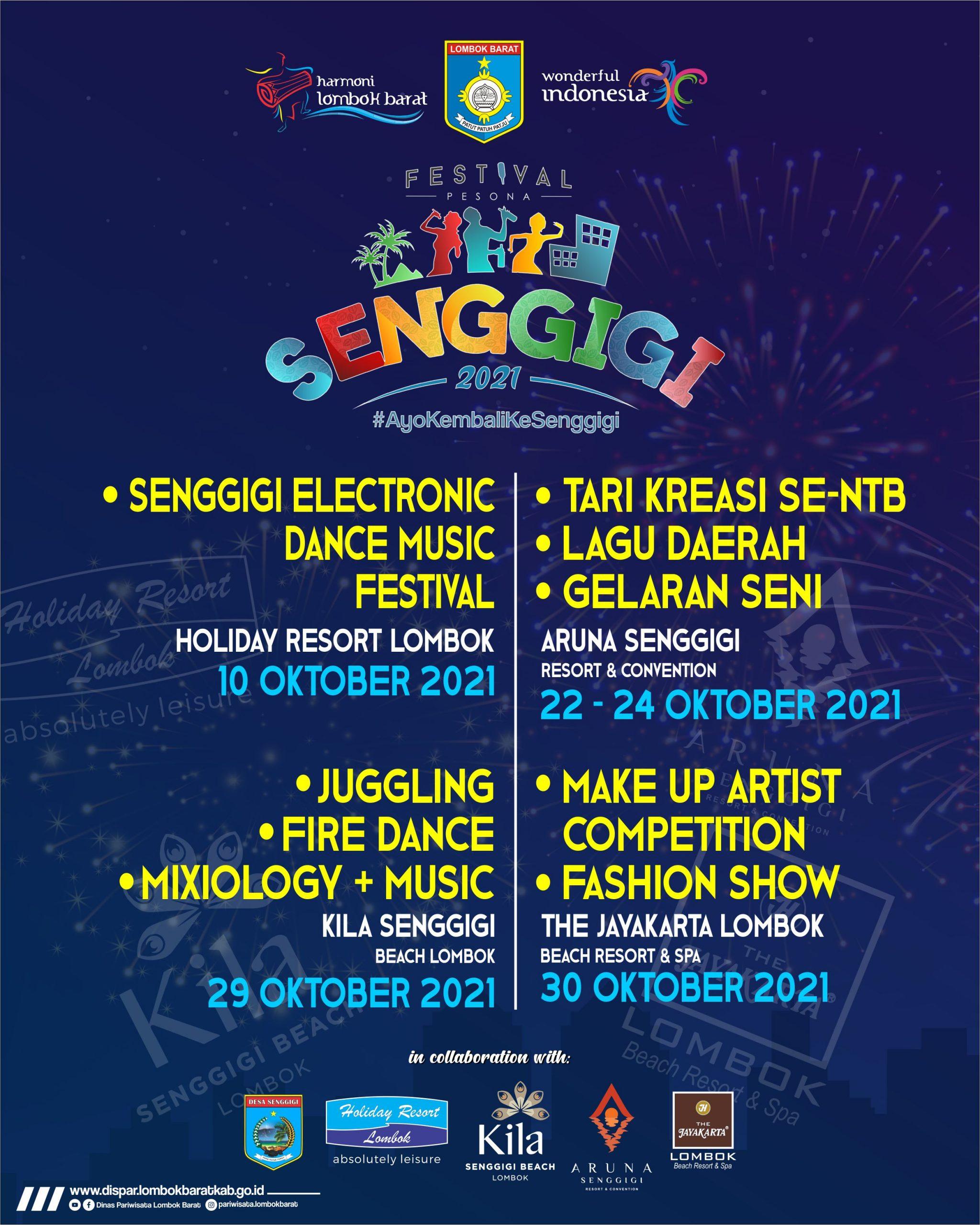 2. Flyer Fest. Pesona Senggigi Fix