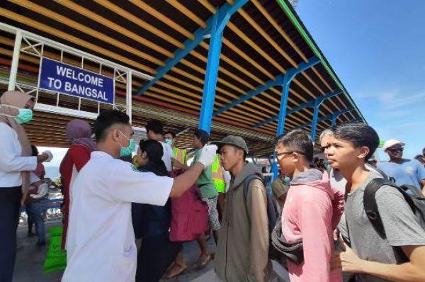 Pelabuhan Bangsal Intensifkan Pemeriksaan Kesehatan