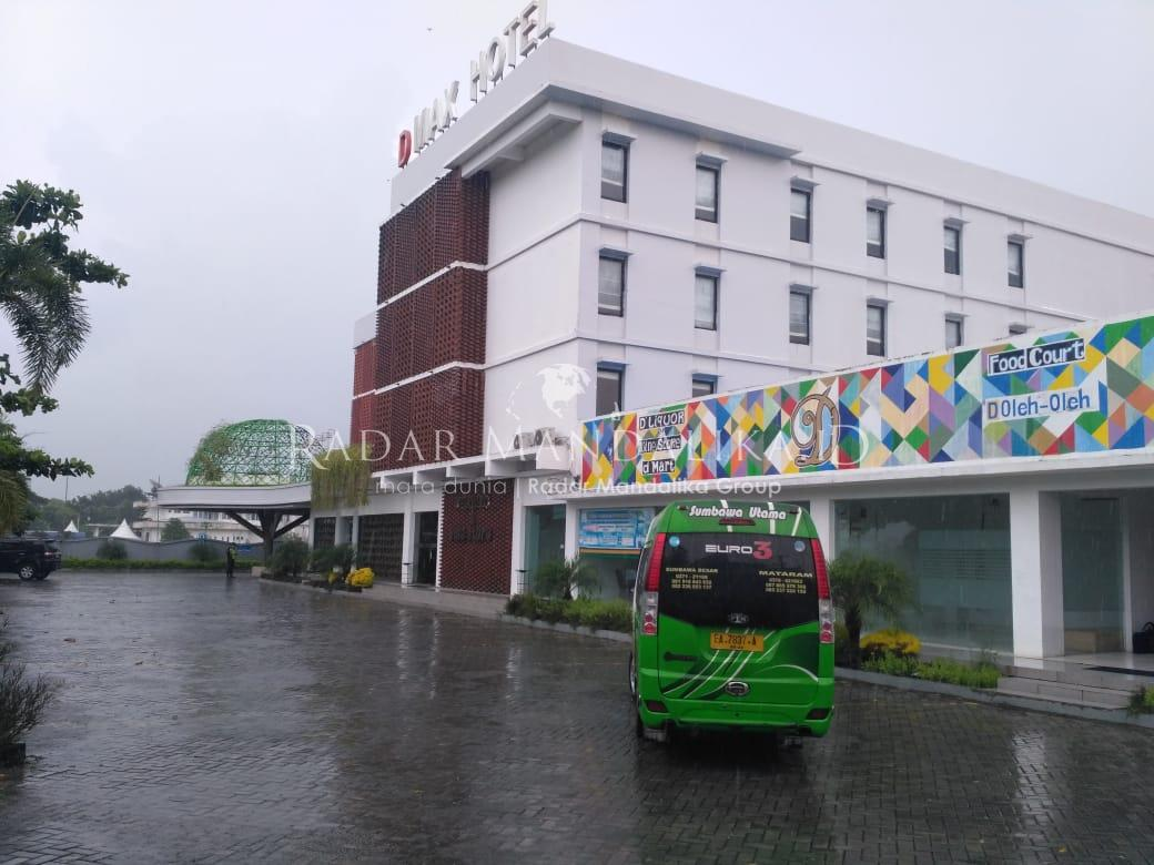 207 Karyawan PT. AMNT  Dikarantina di D'max Hotel