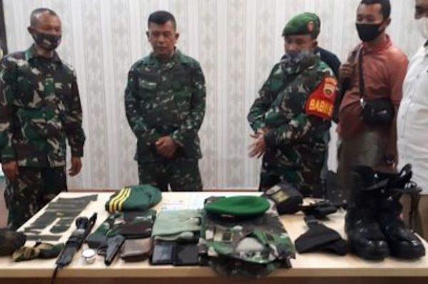 Terungkap, 12 Tahun Jadi TNI Gadungan