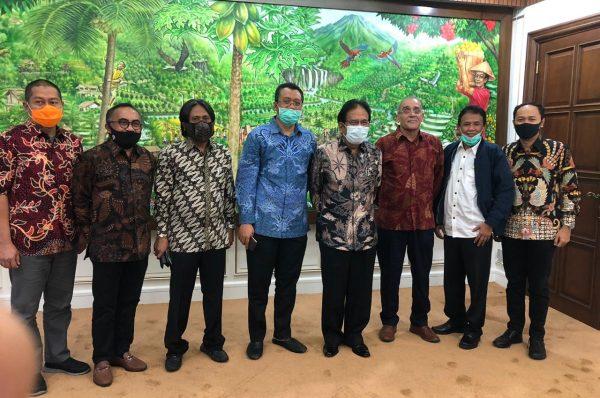 Gubernur NTB Gelar Audiensi dengan  Menteri ATR/BPN