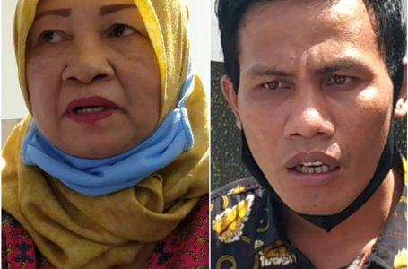 DARI KANAN: Kadis Sosial Loteng dan Ketua JATI NTB, Selamat Riadi.