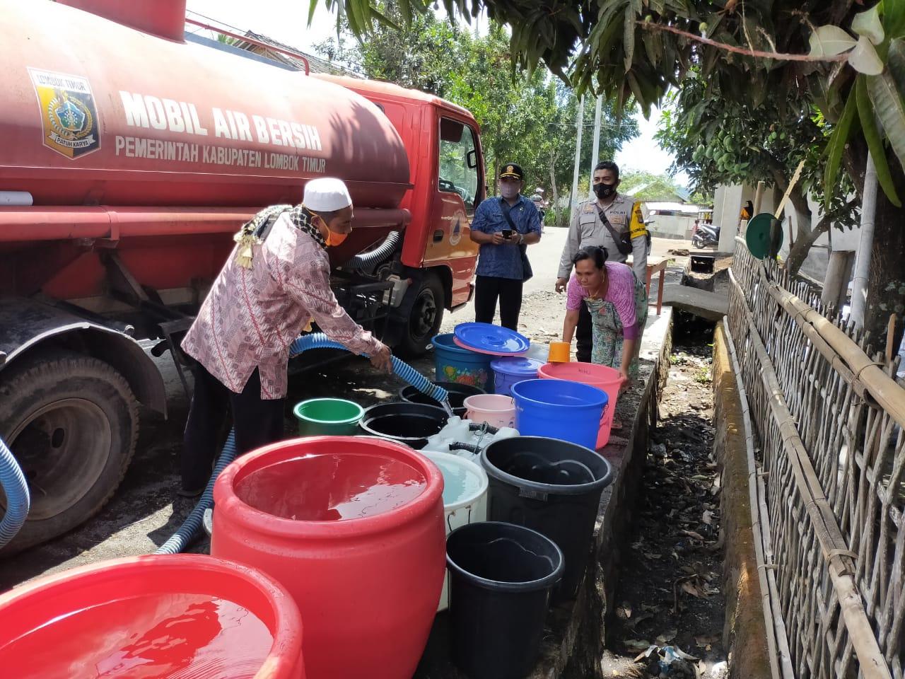 F Salurkan air bersih