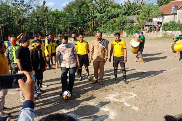 Bang Zul Buka Turnamen  Bola Bagong CUP III