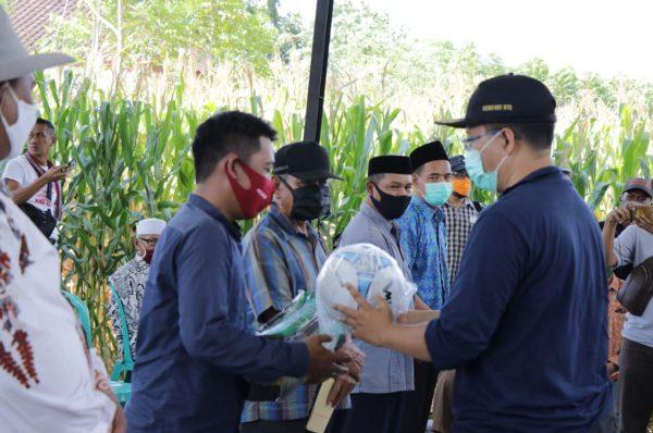 Gubernur Kunjungi Sejumlah Desa di Sumbawa