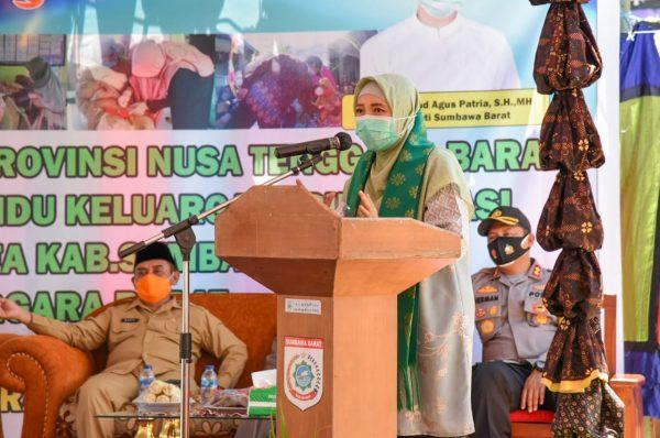 Kunjungi Sumbawa dan KSB, Wagub Jelaskan Pentingnya Posyandu Keluarga