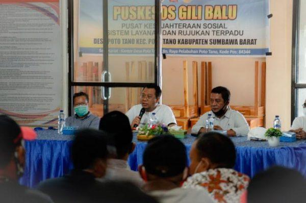 Gubernur Sebar Pesan Keteduhan di Poto Tano