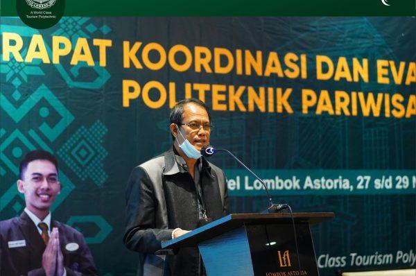 Poltekpar Lombok Gelar Rakor dan Evaluasi Kerjasama