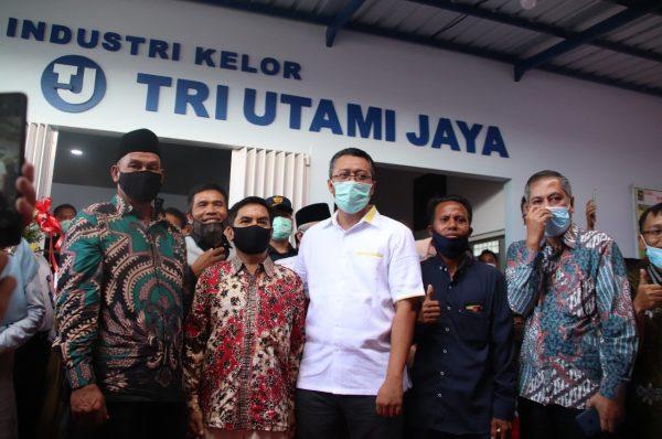 Gubernur Resmikan Pabrik Teh Kelor