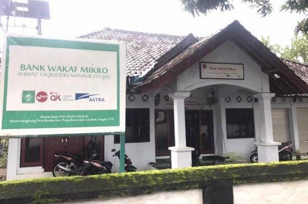 Keberadaan Bank Waqaf Mikro Atqia di Lombok Tengah