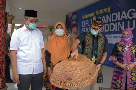 Ist/ radarmandalika.id Zulkiflimansyah beserta istri dan Menparekraf Sandiaga Salahuddin Un