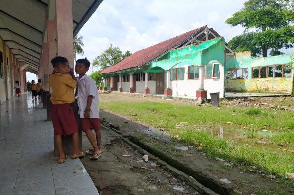 Puluhan Sekolah Rusak Berat di Lombok Tengah