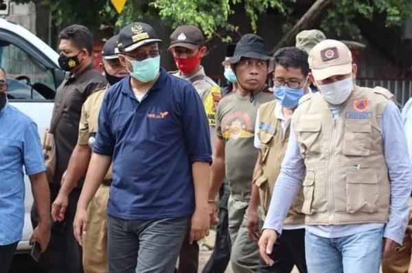 Gesit, Gubernur Tinjau Lokasi Banjir Dompu
