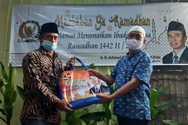 Ramadan, Senator NTB H Sukisman Bantu Organisasi Wartawan
