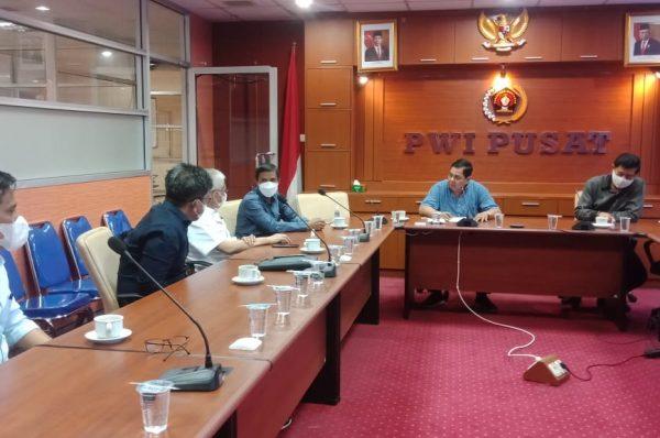Pemprov Sultra-PWI Tindak Lanjuti Penetapan Tuan Rumah HPN 2022