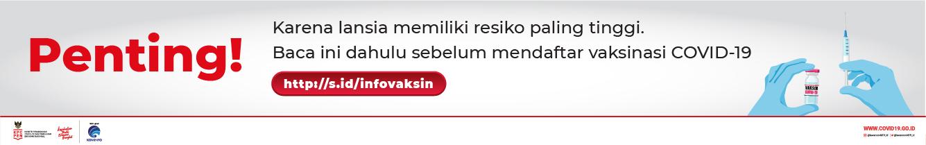 Banner Vaksin Penting - 320 x 50px