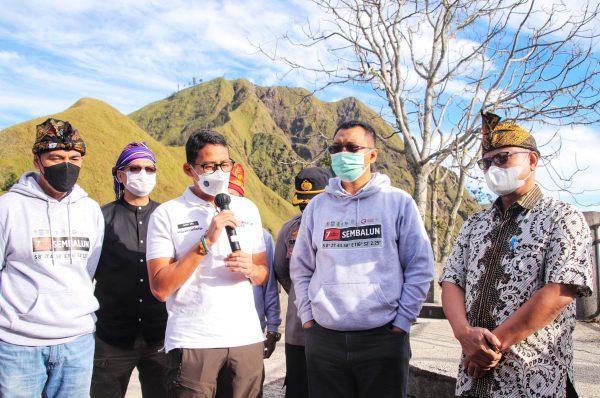 Nginap di Sembalun, Sandiaga Uno Yakin Dengan Kebangkitan Pariwisata NTB