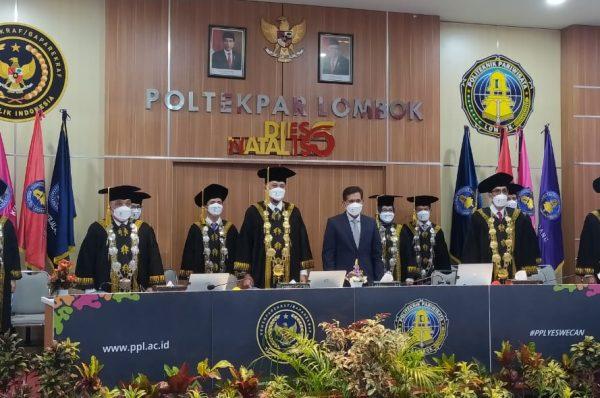 Dies Natalis ke-5 Poltekpar Lombok, Bangun Kolaborasi SDM Andal