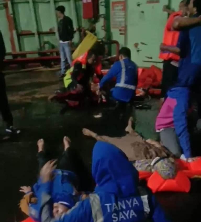 F evakuasi