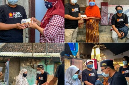 PPKM, HBK PEDULI Salurkan Ribuan Telur Untuk Masyarakat Lombok